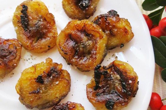 HOW TO: Make Chewy Sweet & Salty Banana Bites