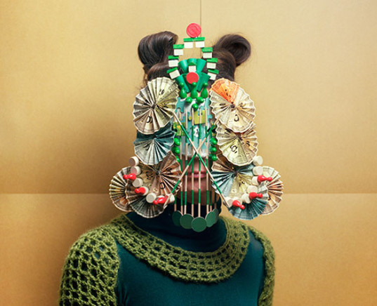 green design, eco design, sustainable design, Marie Rime, upcycled masks, recycled board games, game pieces