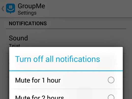 groupme, group chat, parenting, mobile device