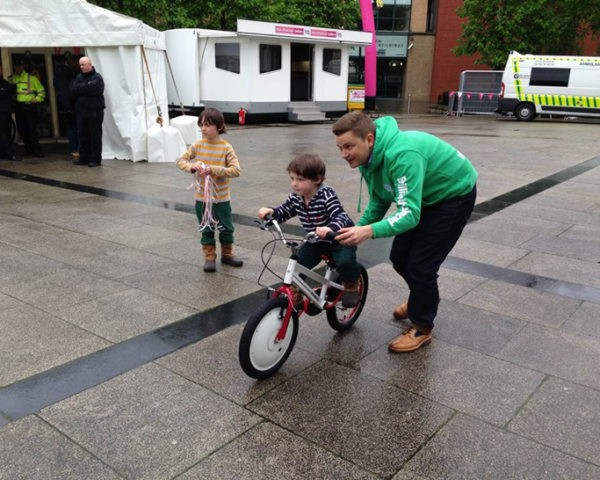 Jyrobike: The World's First Auto Balance Bike Enables Kids to Learn to Ride on Two Wheels in On...