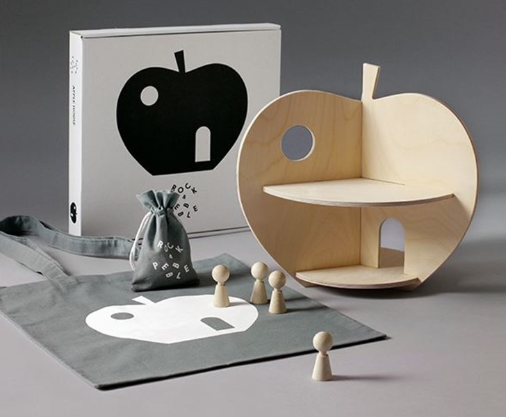 Apple & Pear Shaped Dollhouses Put a Refreshing Spin on Playtime