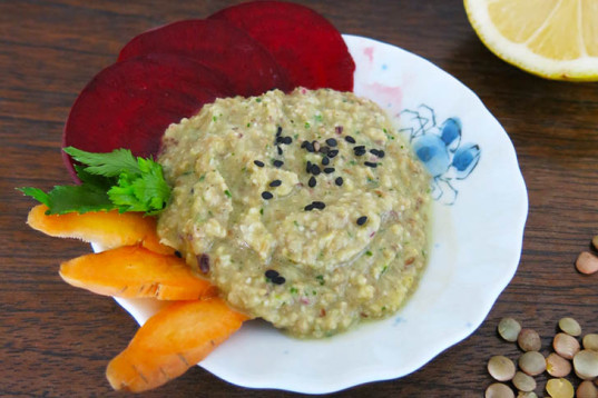 Lemony Lentils Spread, lentils, high in protein, lentils dip, spread, how-to, vegan recipe