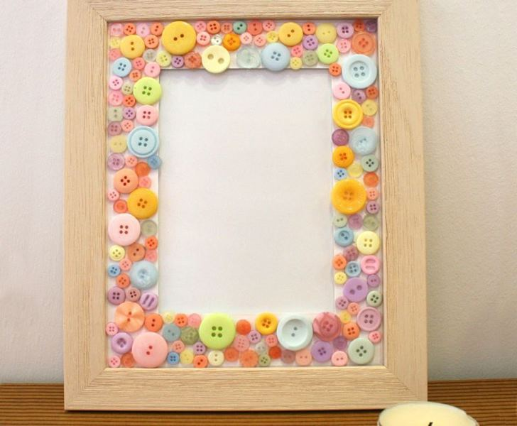 button craft ideas for kids button trees inhabitots 5976