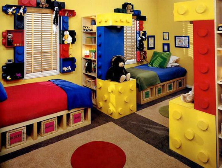 dreamy kids rooms lego 5 inhabitots - Images Of Kids Rooms