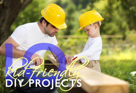 10 kid friendly diy projects for the home and yard inhabitots