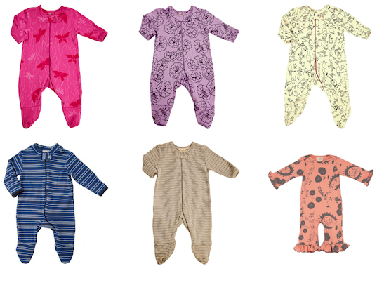 Adooka S Vibrant Organic Baby Layette Collection Supports Small