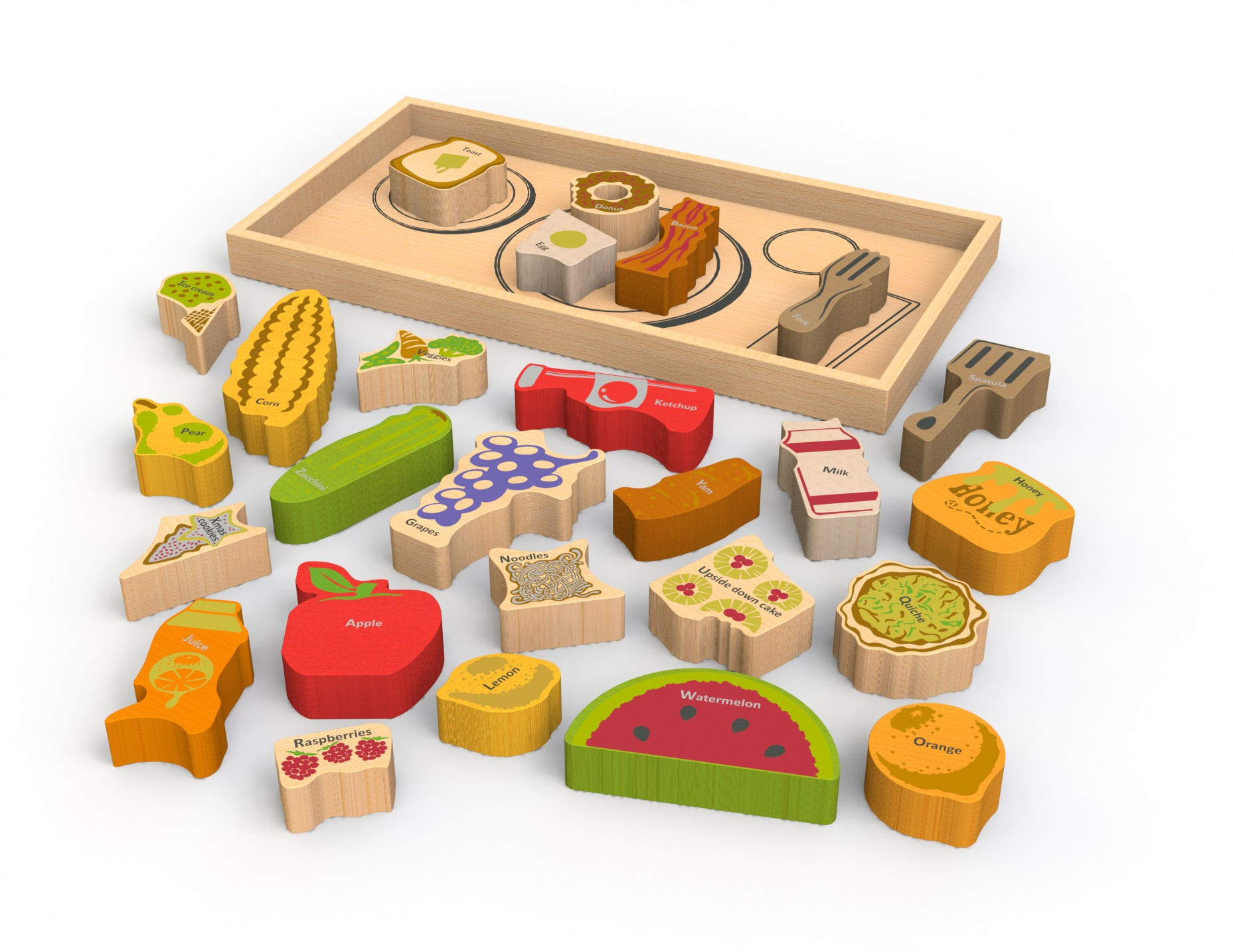Toys beautiful and affordable all wood play kitchen sets inhabitots - Beginagain Debuts A Fresh Crop Of Fantastic Green Toys For Tots Inhabitots