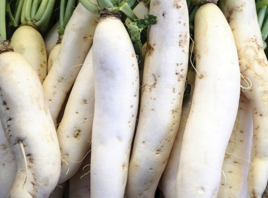 daikon, vegan grocery list, veggies, vegetarian