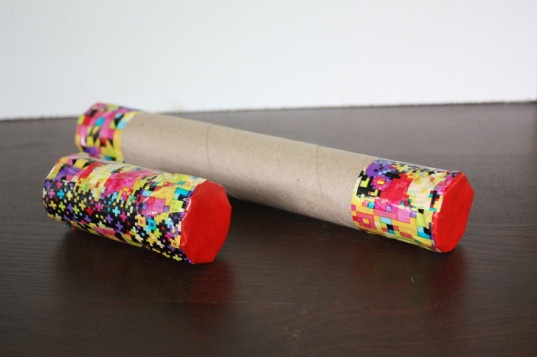 diy, how-to, kids craft, green craft, recycled, rain stick, baby rattle