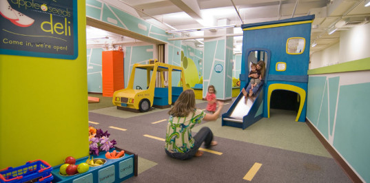 indoor play places, play rooms, indoor playgrounds, places to play, urban playgrounds, urban play spaces, playroom decorating ideas, how to design a playroom