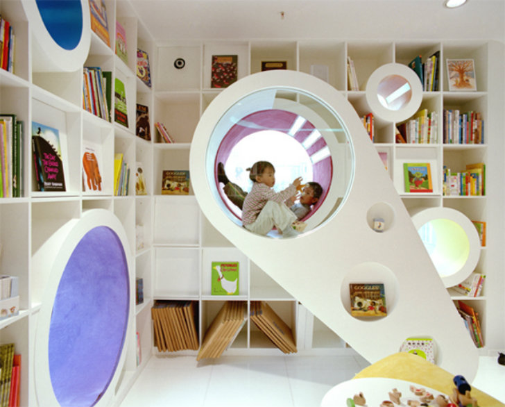 10 Gorgeous Indoor Play Spaces that Will Delight Kids | Inhabitots