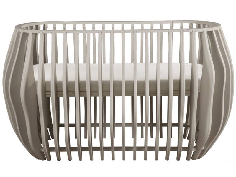 Nursery Works Luxury Contour Crib Is A Stand Alone