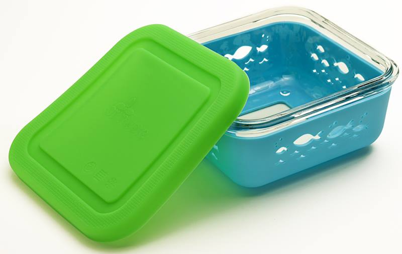 Brinware Glass Silicone Food Storage Containers Keep Packed