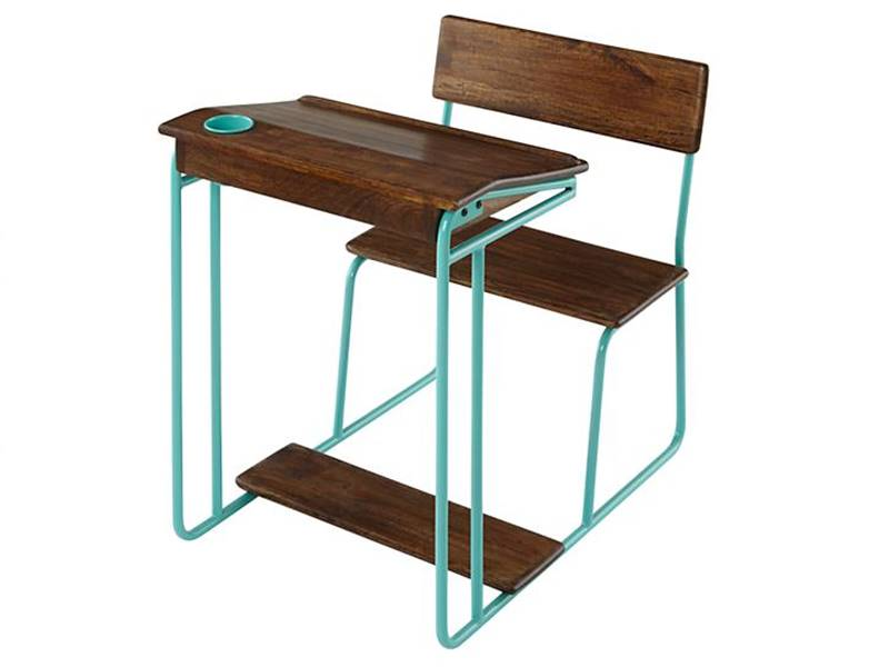 Retro Schoolhouse Desk Is An Eco Homework Haven For Green Kids Inhabitots