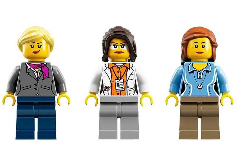 Female scientist lego minifigs come to life via their own - Personnage lego chima ...