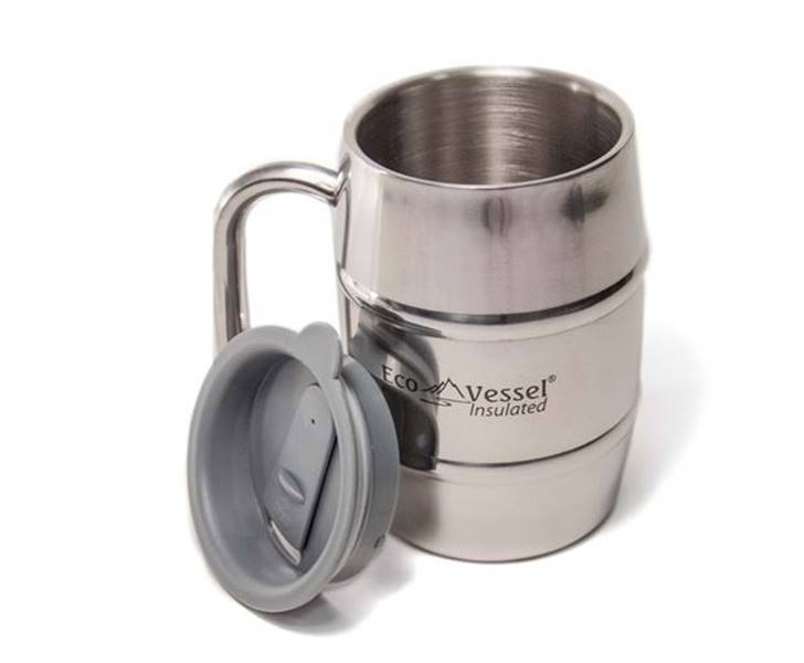 Hour Metal Travel Mugs