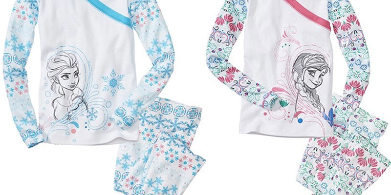 3687035cb2 Elsa   Anna from Disney s Frozen are Now on Sweet   Soft Organic Pajamas  from Hanna Andersson