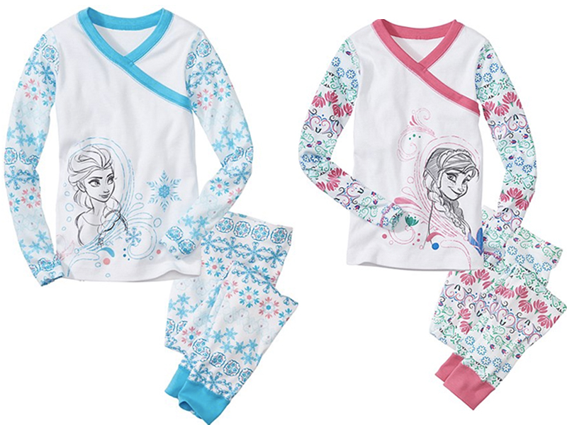 b14fae2a1a Elsa   Anna from Disney s Frozen are Now on Sweet   Soft Organic Pajamas  from Hanna Andersson
