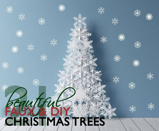 eco decor - Pictures Of Pretty Decorated Christmas Trees