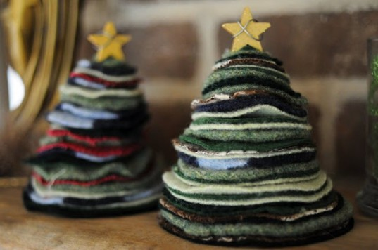 Christmas craft ideas using natural materials