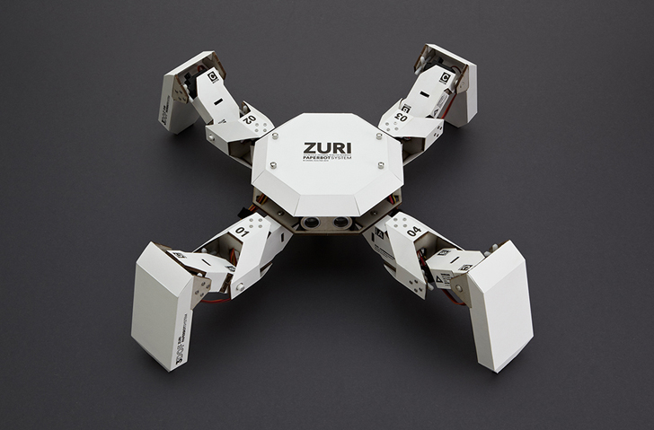 Zuri is a diy programmable robot that kids can build with cardboard diy kids crafts solutioingenieria Image collections