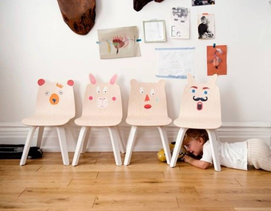 kids furniture, eco-friendly furniture, play collection, green kids, green design, childs furniture, Oeuf, kids play table, kids play chairs