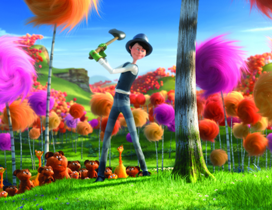 the lorax, Dr. Seuss, green films, eco-friendly films