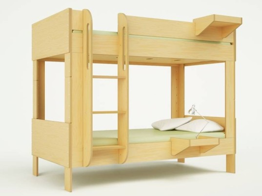 Casa Kids Debuts Sleek And Space Saving Cabin Bunk Bed Inhabitots