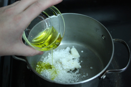 melting solid lotion ingredients