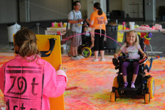 green design, eco design, sustainable design, Patricia and Philip Frost Art Museum FIU, Zot ARtz, All Kids Included- Arts for All an accessible arts experience, Dwayne Szot, art for special needs kids