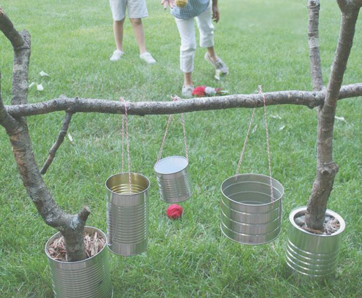 backyard game ideas, backyard games, backyard playtime, yard games,  benefits of play - 10 Super Fun DIY Outdoor Games! Inhabitots