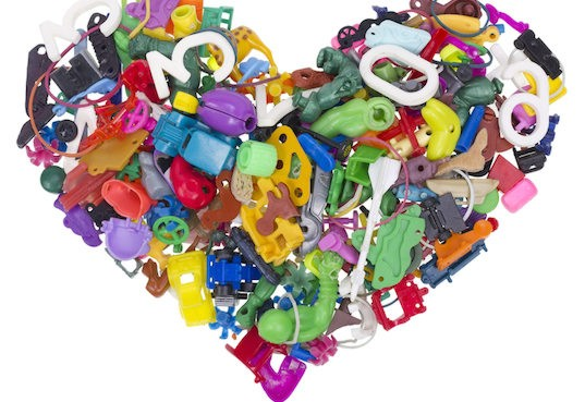 Tom's of Maine and Terracycle team up to help you upcycle your old toys for FREE
