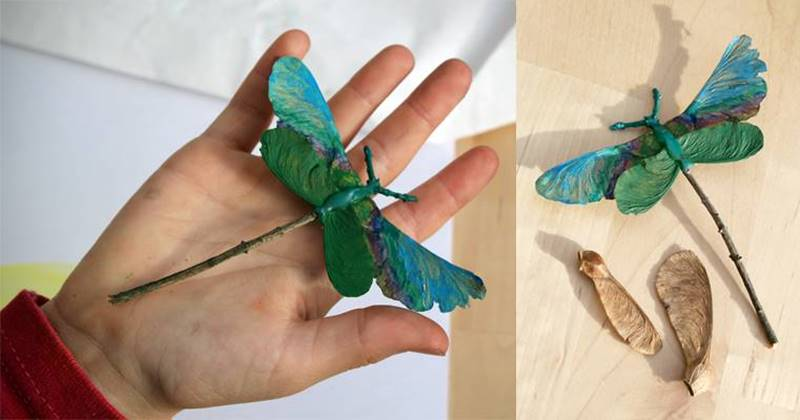 15 Nature Crafts For Kids That Can Be Made Using Found Objects Inhabitots