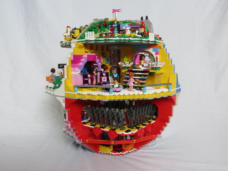 Star Wars Death Star is reimagined with the creative use of LEGO ...