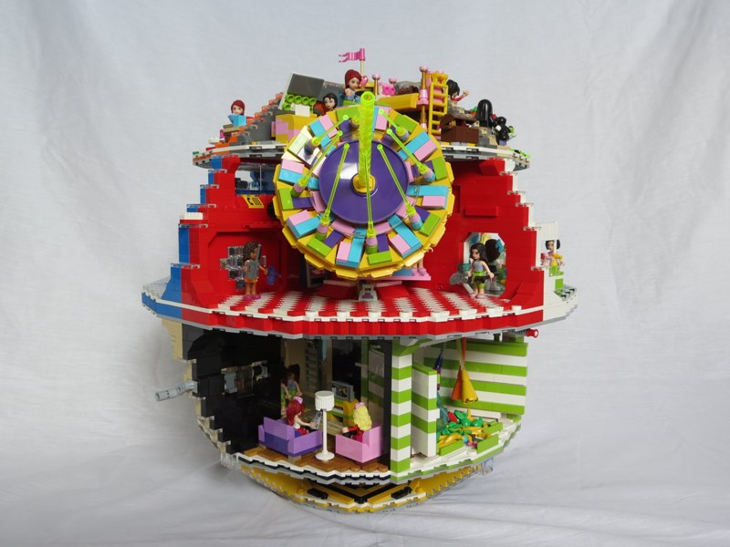 Star Wars Death Star Is Reimagined With The Creative Use Of Lego