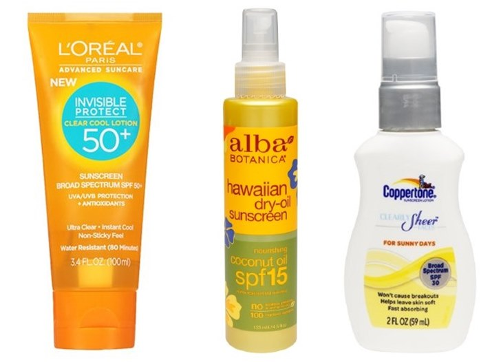 ewg's 2015 sunscreen guide lists the safest and worst sunscreens