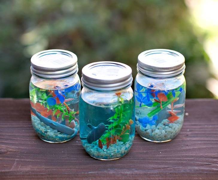 16 kid-friendly recycled Mason jar crafts and projects | Inhabitots