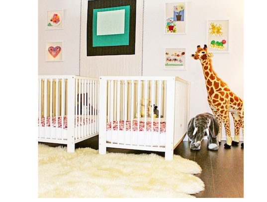 Designer Rachel Zoe opens an on-site office nursery for her ...