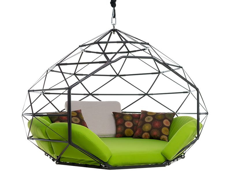 Swing For Kids, Creative Furniture, Kodama Zones, Green Design, Inventive  Seating,