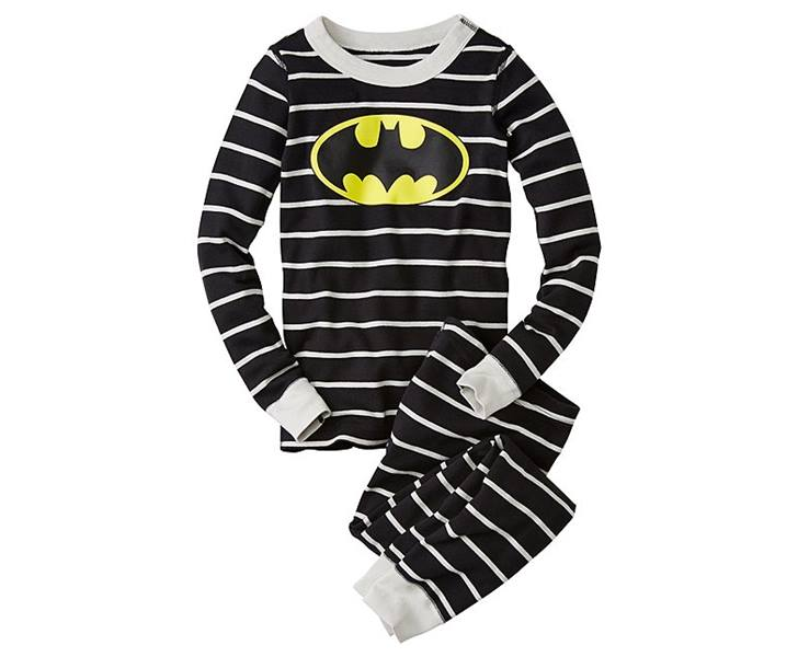 Wonder Woman Long John Pajamas In Organic Cotton  5b04f2e72