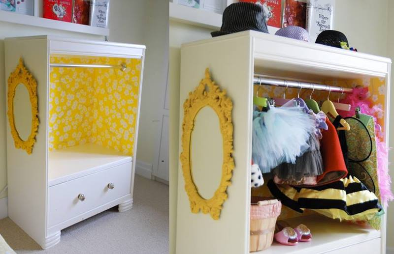 15 Ways To Upcycle Old Furniture Into New Creations For Kids | Inhabitots