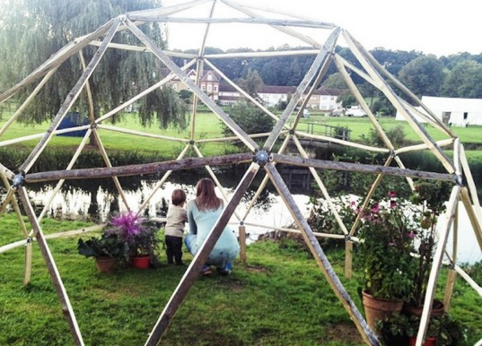 dome, diy dome, construction, kickstarter campaign