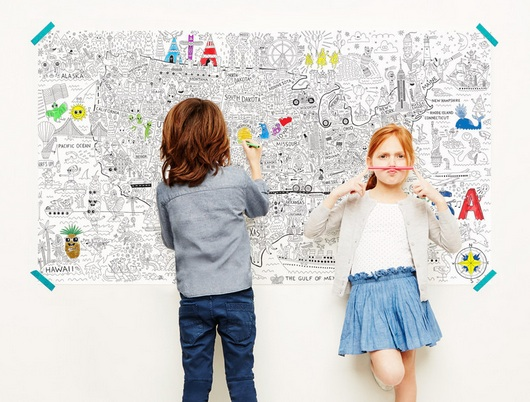 Pirasta\'s giant coloring posters guarantee hours of artsy fun for ...