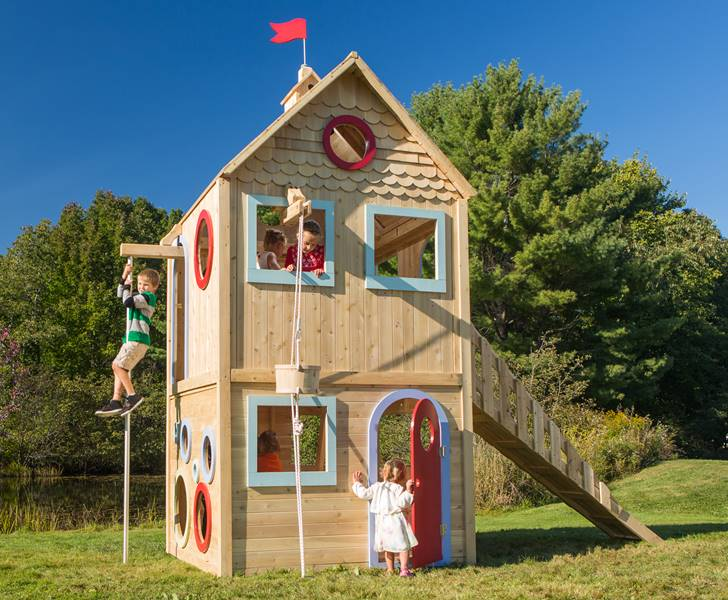 CedarWorks, chemical free playset, eco play house, eco playhome, eco  playset,