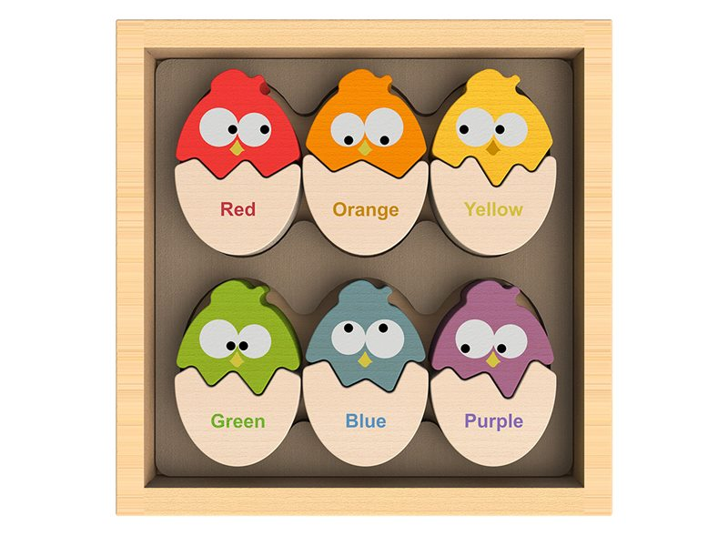 Toys For Tots Colors : Color n eggs matching game teaches tots their colors in