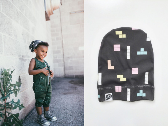 Lot801, kids clothing, unisex kids clothing, unisex children's clothing, black clothing for kids, organic cotton, hat, scarf, fall clothing, gender neutral clothing