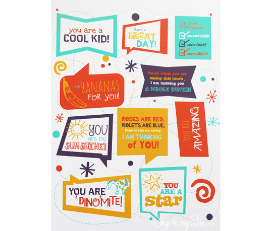 printables, free printables, school lunches, lunch note, lunchbox note, lunch ideas, encouragement, jokes, free, lunchbox, back to school