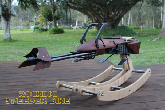green design, eco design, sustainable design, 74-Z Speeder Bike, Instructables, 3d printed, DIY Rockers, Star Wars