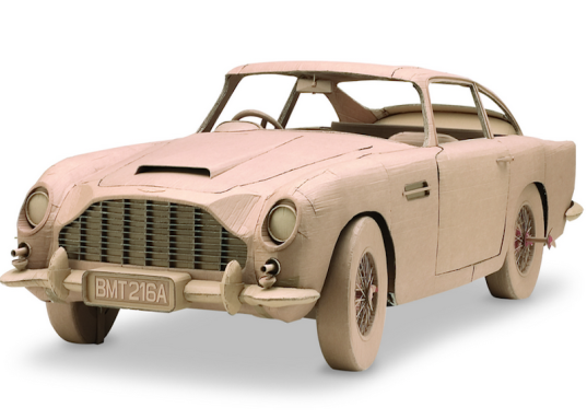 the art of cardboard, cardboard cars, art, cardboard art