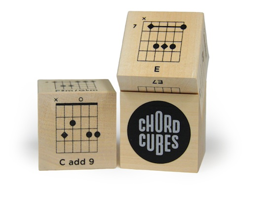 Chord Cubes turn learning how to jam on the guitar into child\'s play ...